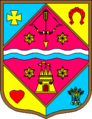 92px Coat of Arms of Poltava Oblast